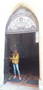 L'entrée de la Chapelle